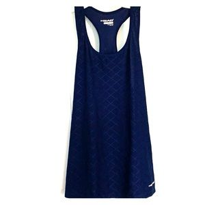 Navy blue athletic tank top - size M